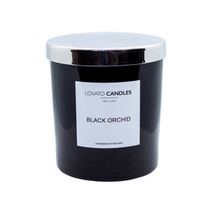 Luxury Black Candle - Black Orchid