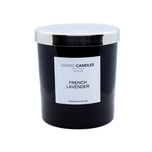 Luxury Black Candle - French Lavender