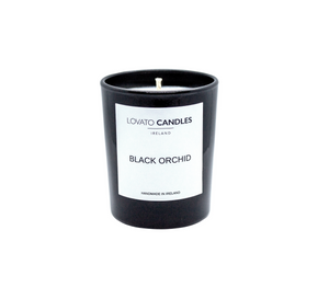 Black Votive Candle - Black Orchid