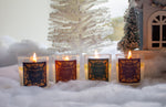Clear Votive Candle - Fireside