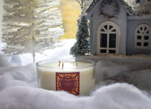 Clear 3-Wick Candle - Winter Pine