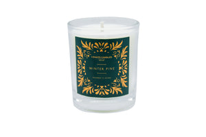 Clear Votive Candle - Winter Pine
