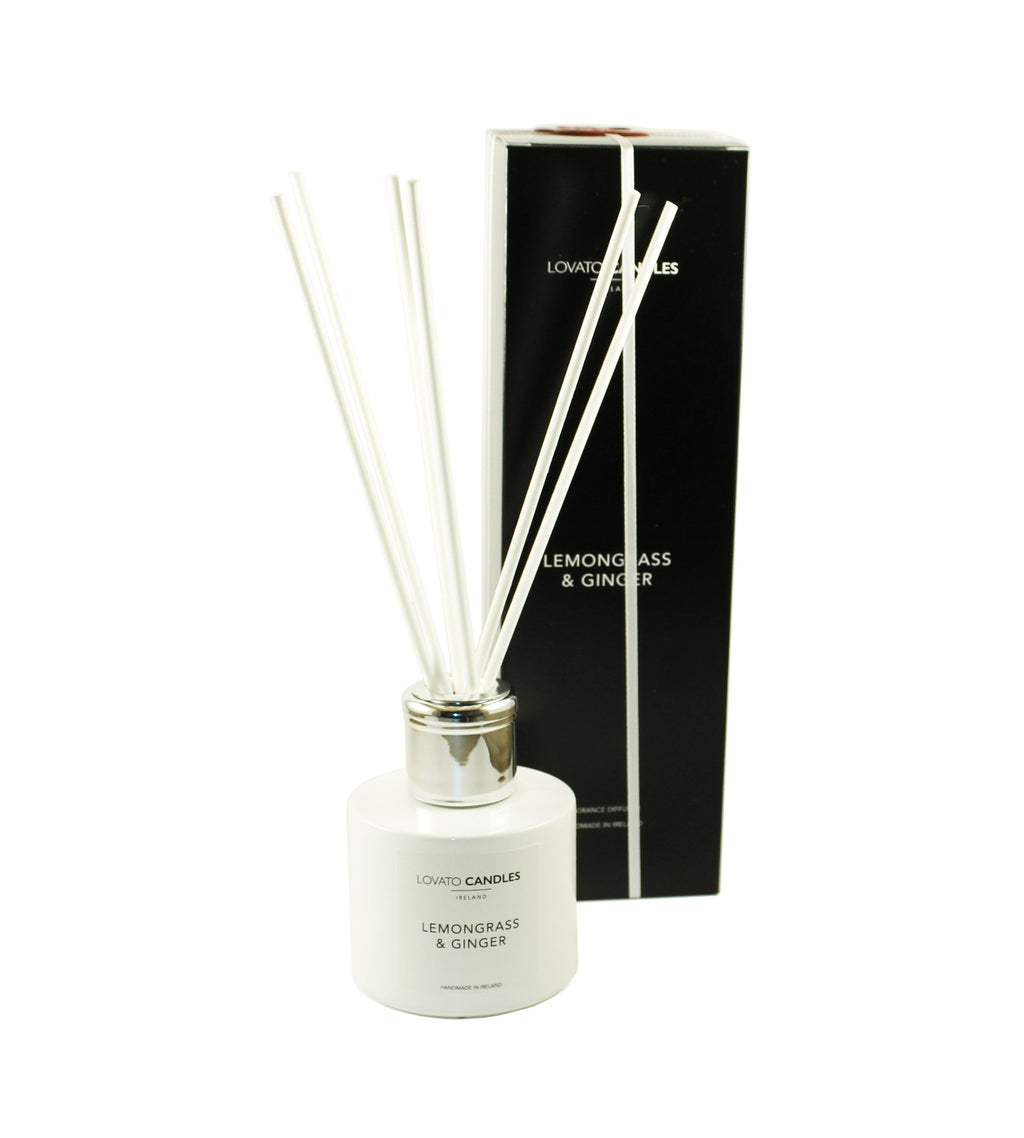 White Diffuser - Lemongrass & Ginger - Lovato Candles