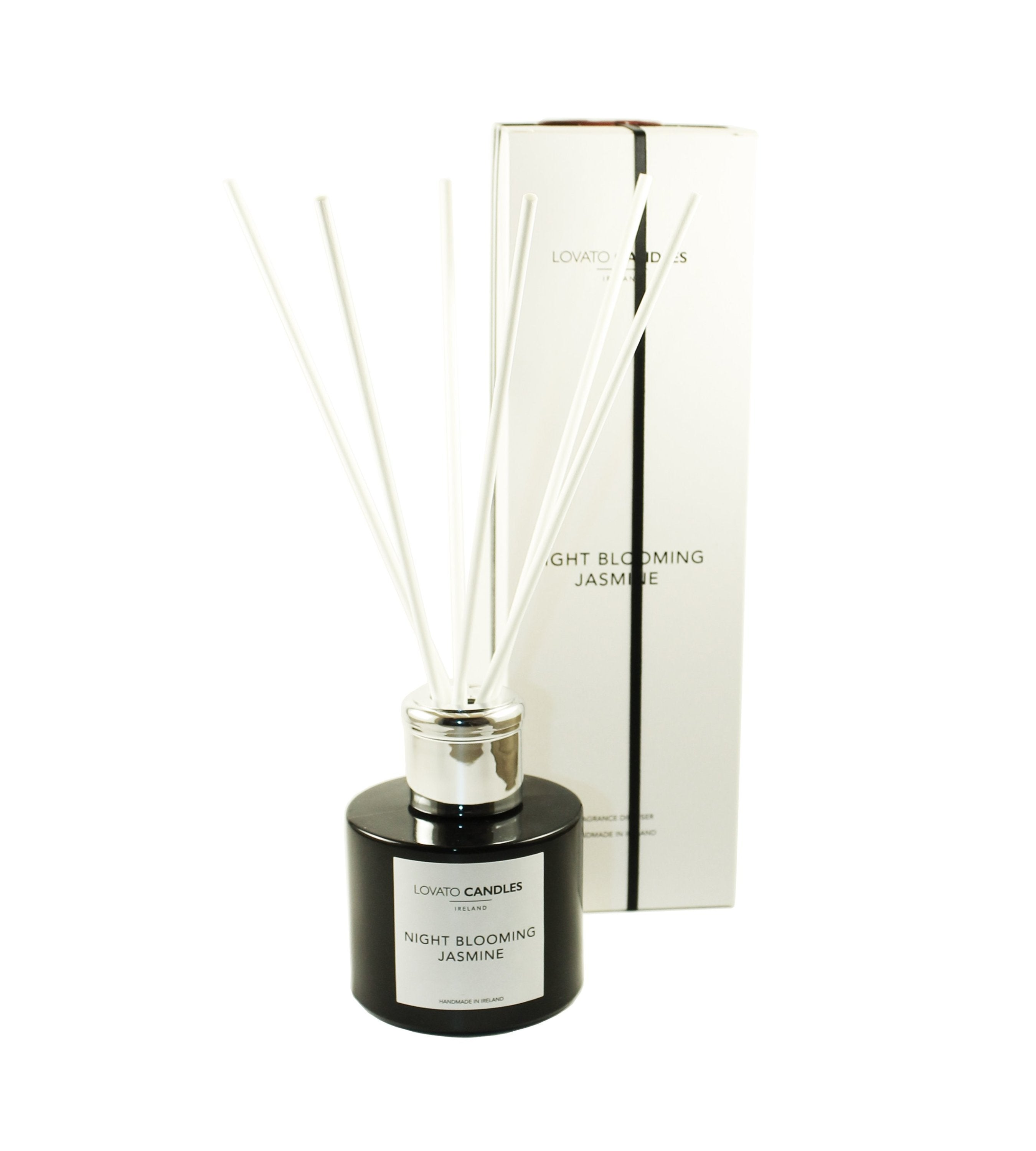 Black Diffuser - Night Blooming Jasmine - Lovato Candles