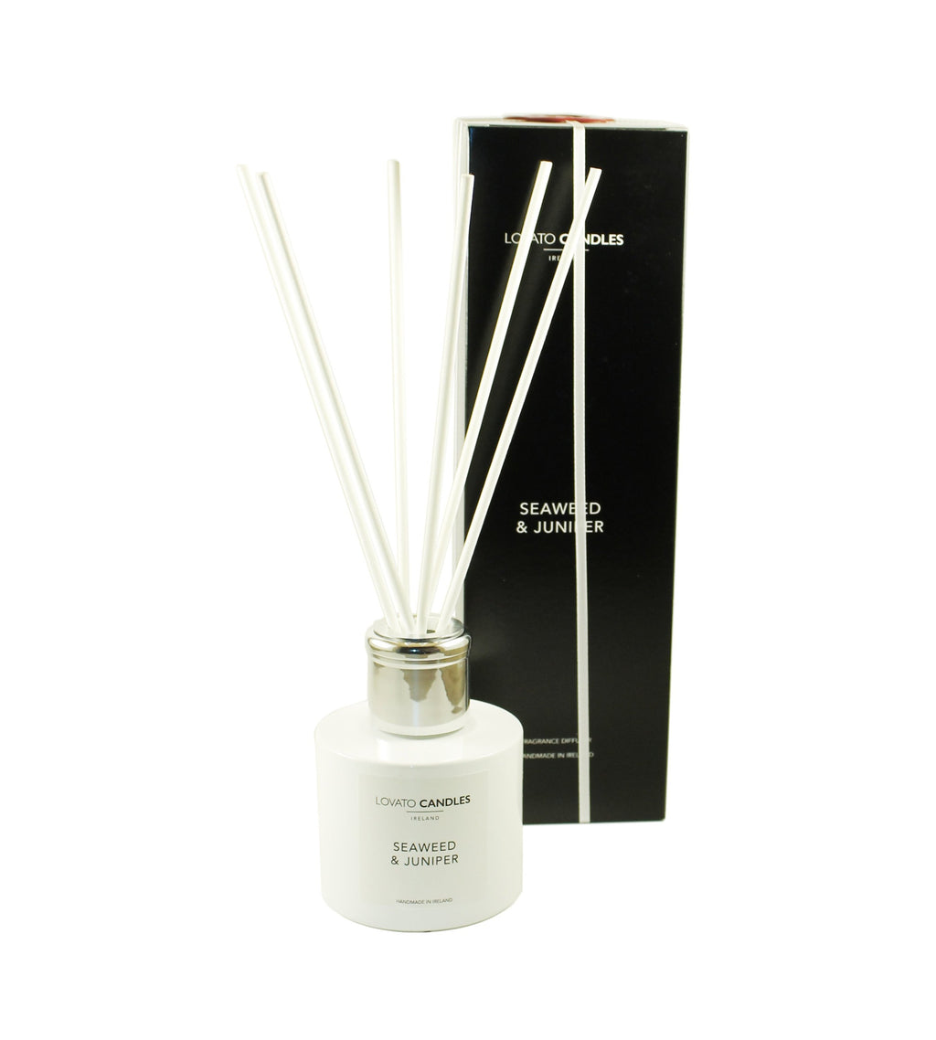 White Diffuser - Seaweed & Juniper - Lovato Candles