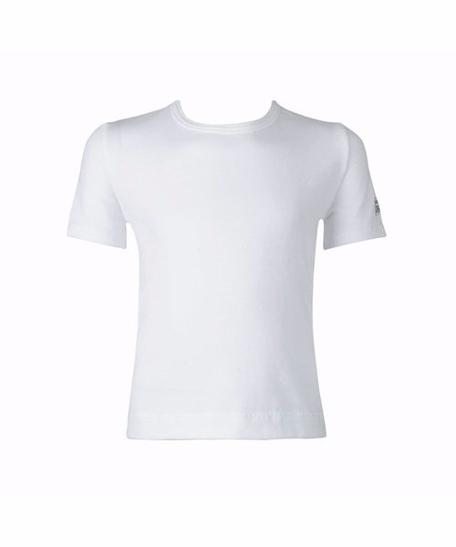 Mplouza Xorou Paidiki Agori FreedOfLondon Short Sleeve T-Shirt RAD Approved Cotton White MelizDanceShop