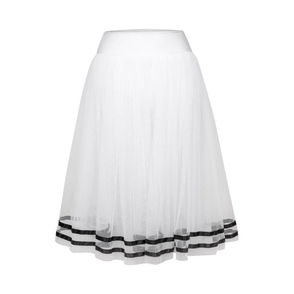 Freed of London Romantic Tutu with Ribbon RAD Approved Fousta Mpaletou Lefko Mavro 2 Meliz