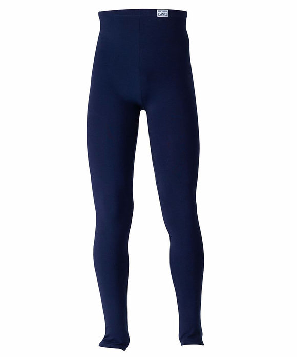 Kolan Xorou Andriko Paidiko FreedOfLondon Boy's Stirrup Tights RAD Cotton Navy MelizDanceShop