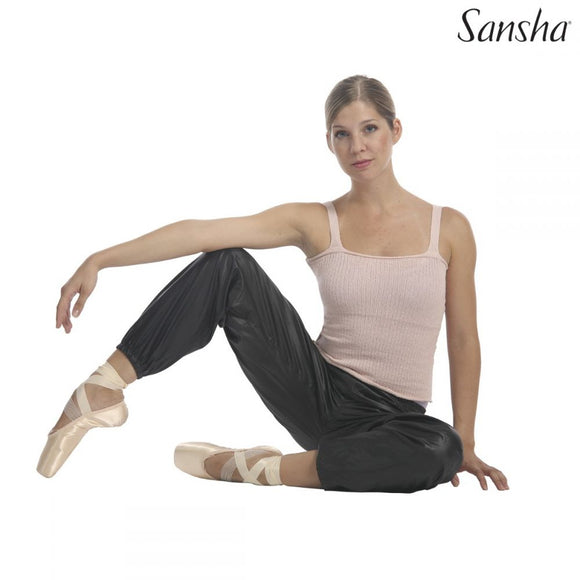 Panteloni Prothermansis Xorou Warmer Sauna Effect Sansha Verity Black MelizDanceShop