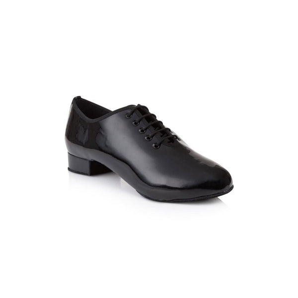 Papoutsia Latin Andrika Ballroom American Smooth Xeiropoihta FreedOfLondon Tomas One Patent Nubuck Leather Black MelizDanceShop