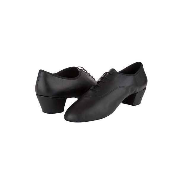 Papoutsia Latin Andrika Xeiropoihta FreedOfLondon Freed Latin Flex Leather Black Pair MelizDanceShop