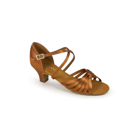 Papoutsia Latin Gynaikeia Paidika Efibika Xeiropoihta InternationDanceShoes G1013 Mpez Tan MelizDanceShop