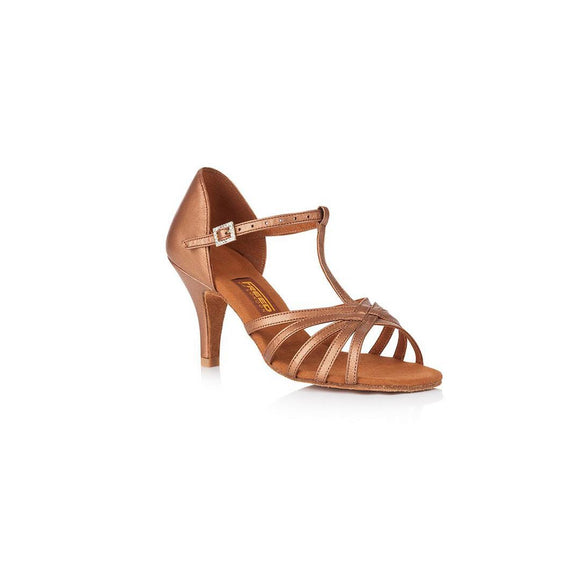 Papoutsia Latin Gynaikeia Xeiropoihta FreedOfLondon Halina Leather Rose Gold MelizDanceShop