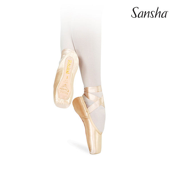 Pouent Papoutsia Mpaletou Sansha Recital Pointe Shoes MelizDanceShop