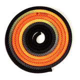 Sxoinaki Rythmikis Gymnastikis Polyxrwmo Agonistiko Pastorelli Multicoloured FIG 00283 Orange Black MelizDanceShop