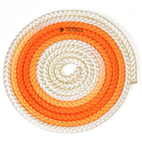 Sxoinaki Rythmikis Gymnastikis Polyxrwmo Agonistiko Pastorelli Multicoloured FIG 00283 White Fluo Orange MelizDanceShop