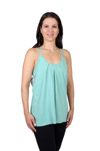 Yoga top 100% organic cotton