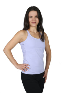 Lavender Heart Yoga Top