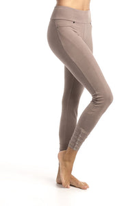 Organic Cotton Legging - Cappuccino colour
