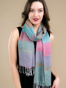 Sandy Scarf - Turquoise