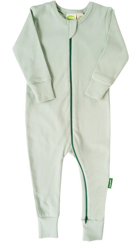 Basic Full Sleeve Romper - Mint Colour