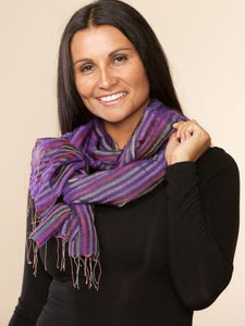 Mandy Silk & Wool Scarf
