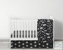 Arrow Crib Skirt- Panel Style- You choose the color