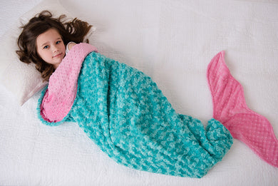 Mermaid Tail Sleep Sack- Toddler to Adult Sizes