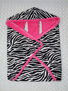 Zebra Cozy Wrap Blanket- Car Seat Blanket