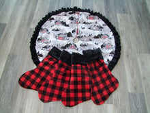 Buffalo Plaid Minky Stockings- Cuddle Minky Prints