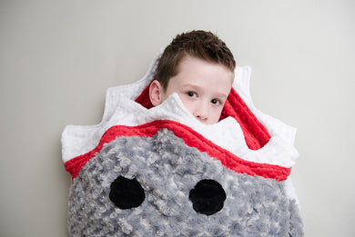 Shark Sleep Sack- Toddler to Adult Sizes