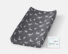 Navy Arrow Changing Pad Cover- Contour Cover- Minky Cover