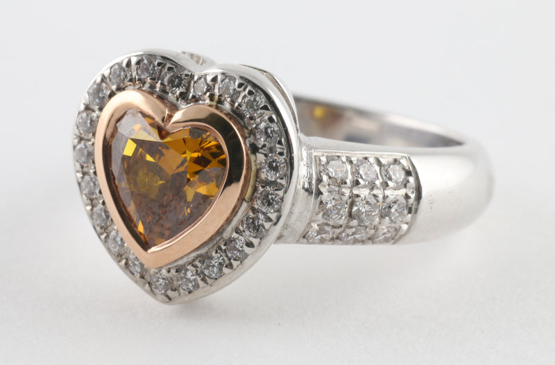 Cognac Love Ring