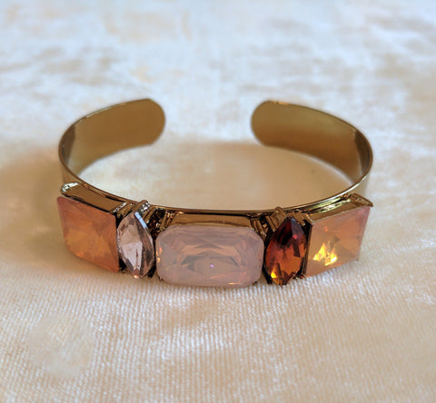 multicolor stone bangle bracelets