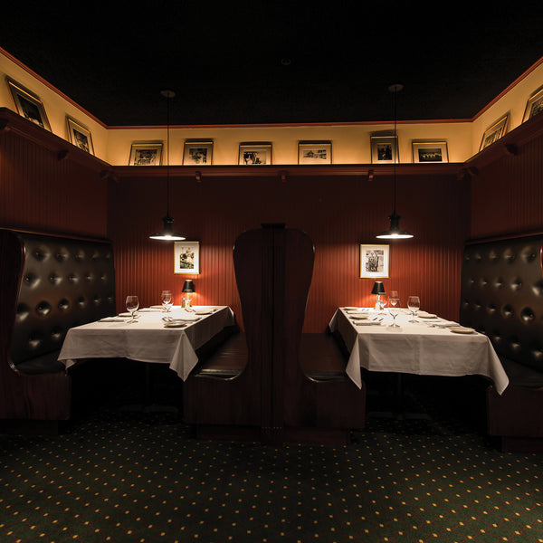 Interior view Lewnes' Steakhouse Annapolis Maryland