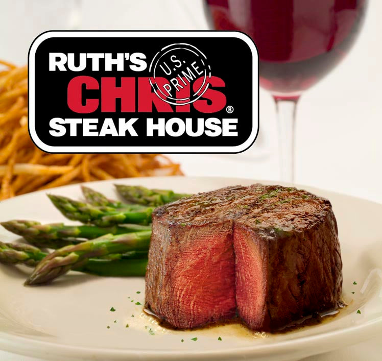 Ruth's Chris Steak House $50x2 for $80