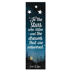 To the stars bookmark