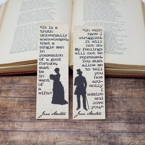 Darcy and Elizabeth Bookmarks - Pride and Prejudice
