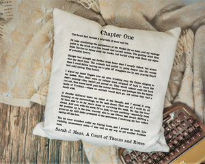 ACOTAR Page Pillow