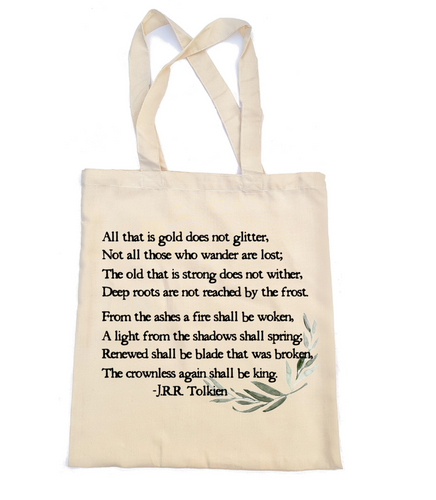 All That is Gold Tote Bag
