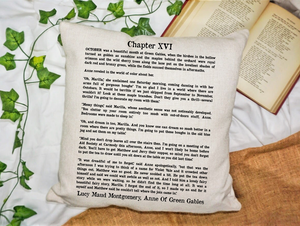 Anne of Green Gables Page Pillow