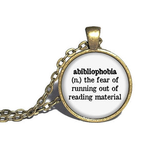 Abibliophobia Definition