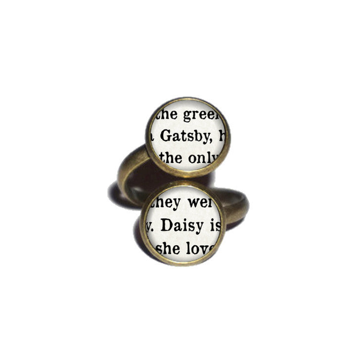 Gatsby and Daisy Ring