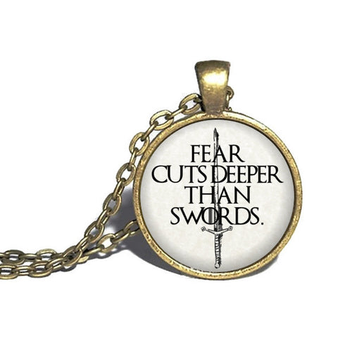 Fear Cuts Deeper Necklace