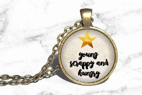 Hamilton - Young, Scrappy & Hungry