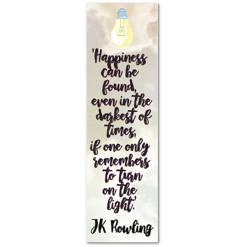 Happiness Bookmark