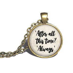 After All This Time Necklace