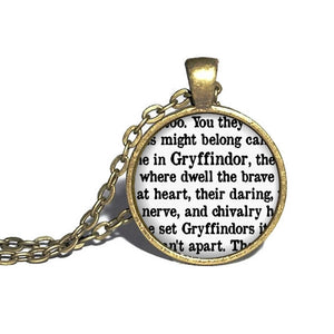 Gryffindor Necklace