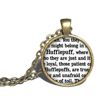 Hufflepuff Necklace