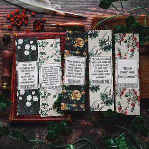 Jane Austen Bookmark Collection